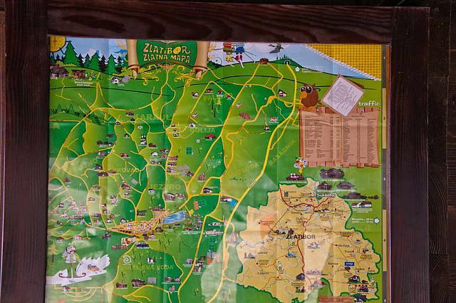 Turisticka Mapa Zlatibora