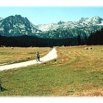Ne dragi moji, nije Švajcarska - u pitanju je Durmitor, meka ne samo za planinare, već i za bicikliste