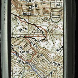 Rasterske karte u Garmin GPS-ovima!