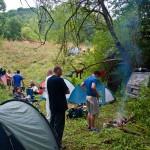 Kamp uveliko podignut