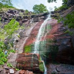 Kameni zid velikog Čunguljskog vodopada