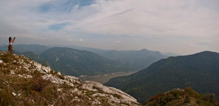 Pogled sa Sokolovca na Dunav