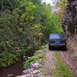 Put isklesan kroz kanjon Crne reke