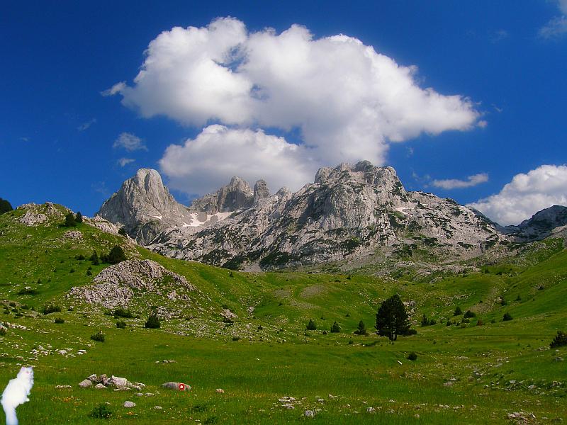 Otish i Zelena glava (najviši vrh planine Prenj)
