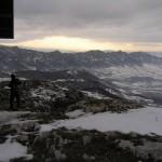 Zimski pogled sa vrha Stola ka Velikom Kršu